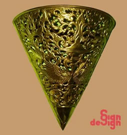 Sign Design Bali Art And Craft Metal Product